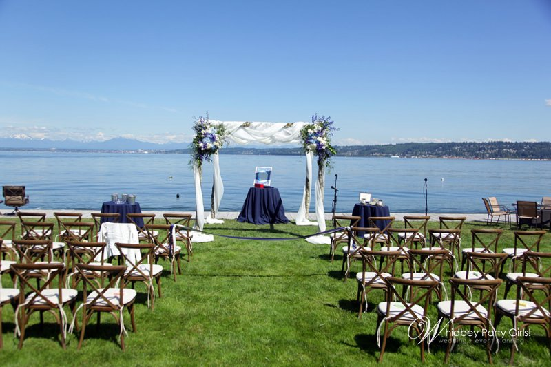 Whidbey Beach Wedding